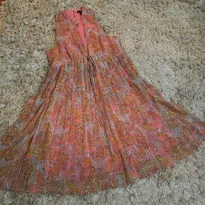 H&M paisley babydoll dress